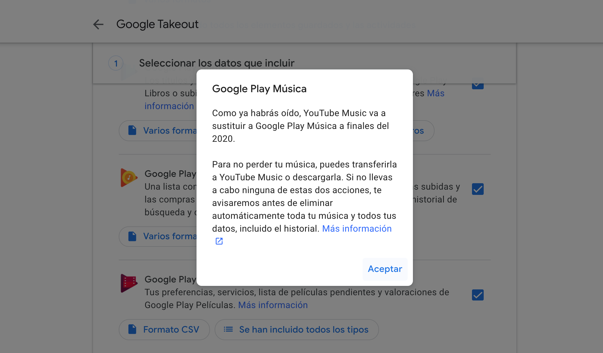 Google Play Music echa el cierre definitivamente, descarga tu ...